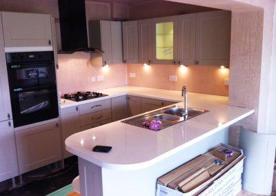 Kitchen renovation, Chester