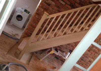 Full hardwood staircase, Cheshire